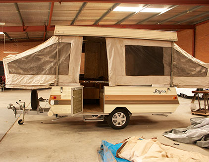 Fantastic Paul And Nicky39s Jayco Finch Camper Trailer Rebuild